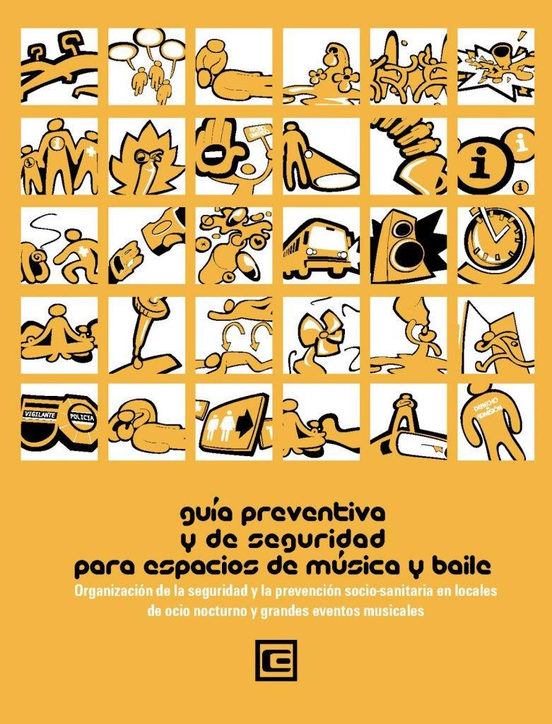 Guía preventiva y de seguridad para espacios de música y baile