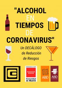 alcohol en tiempo de coronavirus
